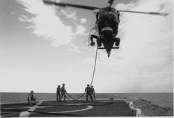 refuling our own bird at sea