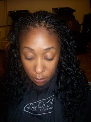 Individual Tree Braids with Sew-In
