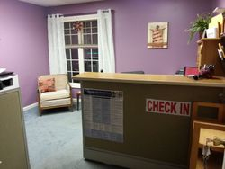 Our Business Office Where Clients Check in