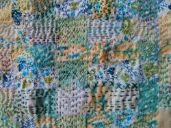 Kantha stitched by Trish
