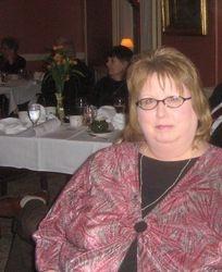 Linda Dingman at Dutch Settlers dinner