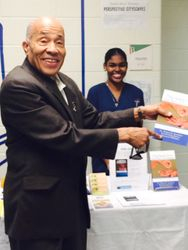Book Signing at Health Fair