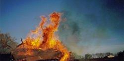 Demons in a fire