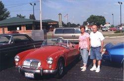 Bob and Barb Buckavekas'1961 MGA