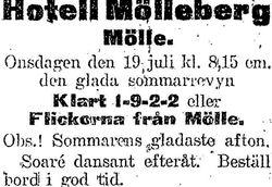 Hotell Molleberg 1922