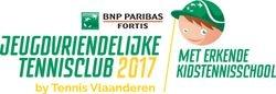 Jeugdvriendelijke tennisclub met erkende kidstennisschool 2017