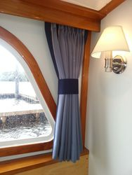 French pleated curtains
