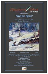 Winter Blues Poster