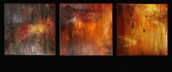 OUT  OF  THE  WOODS. Triptych
