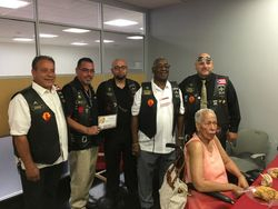 New York, New Jersey and Penna members of The Borinqueneers 65th Infantry Regiment MC