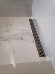 Kerdi shower cabin drain