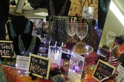 Wine Boas, Wood-Quilting, Crazy-Quilting and Fiber Bling!
