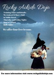 Aikido Goshinkai training flyer