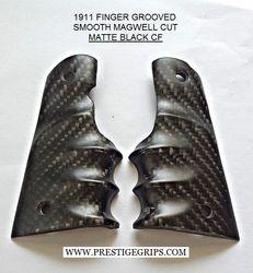 1911 FINGER GROOVED MATTE Black CF