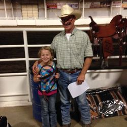 Milana and Grandpa Howard