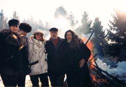 Tanya & Iohannes, Lera & Eugen, Nika, Belarus, 1996