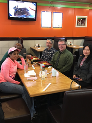 Lunch with ODU Chemistry Faculty