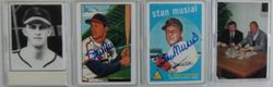Stan Musial Signature Series Porcelain Autographed Card 1996 Collection 89/476