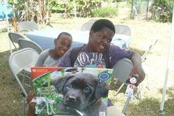A dog lover!-Barbaras Village