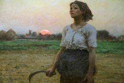 Breton, Song of the Lark, 1884, Chicago