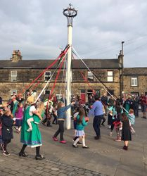 May Pole Dancing  on 1st May