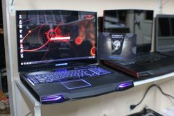 Gaming laptop rigs