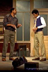 Jonavan Adams (playing Whitney Deeler) and Jeremy DeCarlos