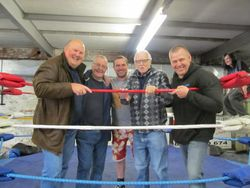Harry Monk, Len 'Hurricane' Smith, Al Marshall, Paul Parissio