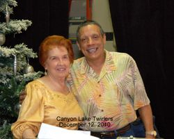Shirley Ivins and Tony Oxendine
