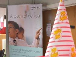 Hitachi marketing at Exertis in accrington