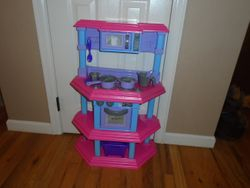 American Plastic Toys Kids My Very Own Gourmet Kitchen - $30