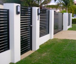 Fence Infill Panels and Gate