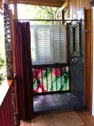 Deluxe Outdoor Shower on the Lanai