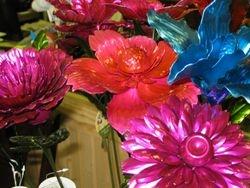Metal Flower Stakes