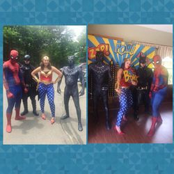 Super Hero's Meet up