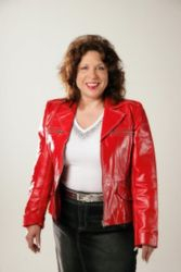 "Kathie FitzPatrick, ""Love that red coat!"""