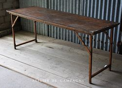 #26/010 FOLDING TABLES 2AVAILABLE