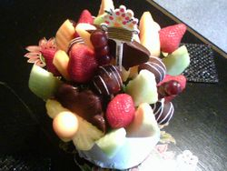 Edible Arrangement from Michelle & Marcy