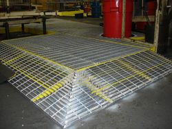 Anti-slip surface in local Manufacturing Facility