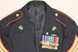 USMC S.Sgt. Dining Out Dress: