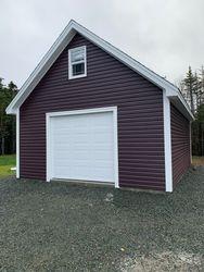 18' x 24' Deluxe Garage c/w Loft