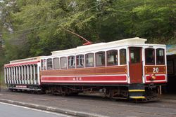Winter Saloon No. 20 at Groudle Glen, 10th May 2015.