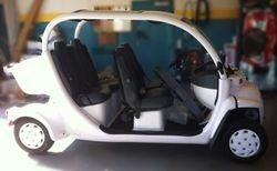 Overhead Console in a GEM electric car