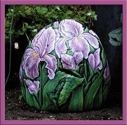 Iris - Pink (back)