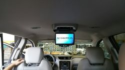 "Audiovox 10.1"" overhead entertainment center"