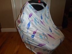 Car Seat Cover or Nursing Cover - $7
