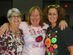 Linda, Diane, and Alisa @ the Silent Auciton