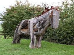 Working Horse Sculpture - Clipperty Clop