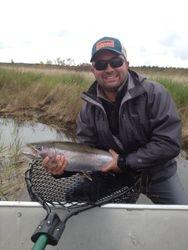 """28"""" Rainbow Naknek River, AK"""