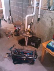 Sump & B/U Pump Replacement